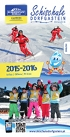 Ski School Dorfgastein: Folder english